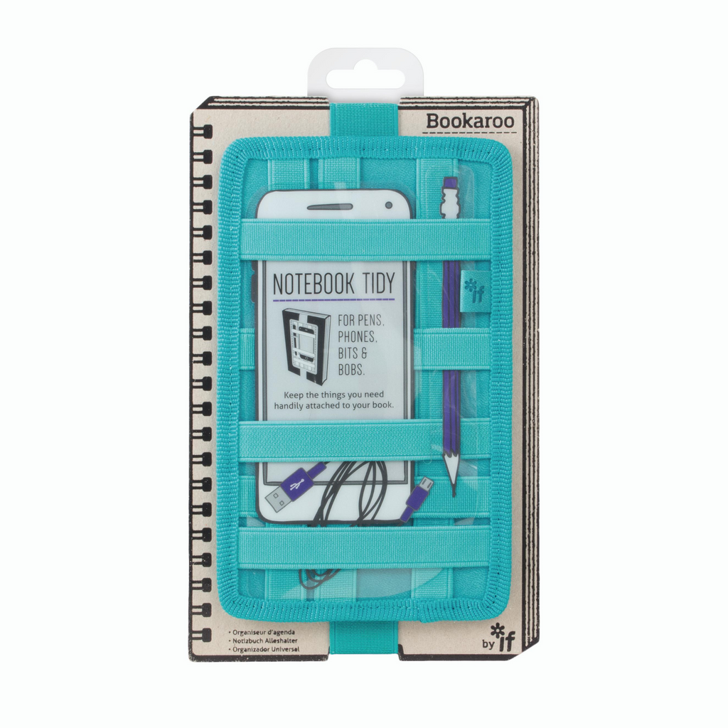 Notebook Tidy - Turquoise - Paper Kooka
