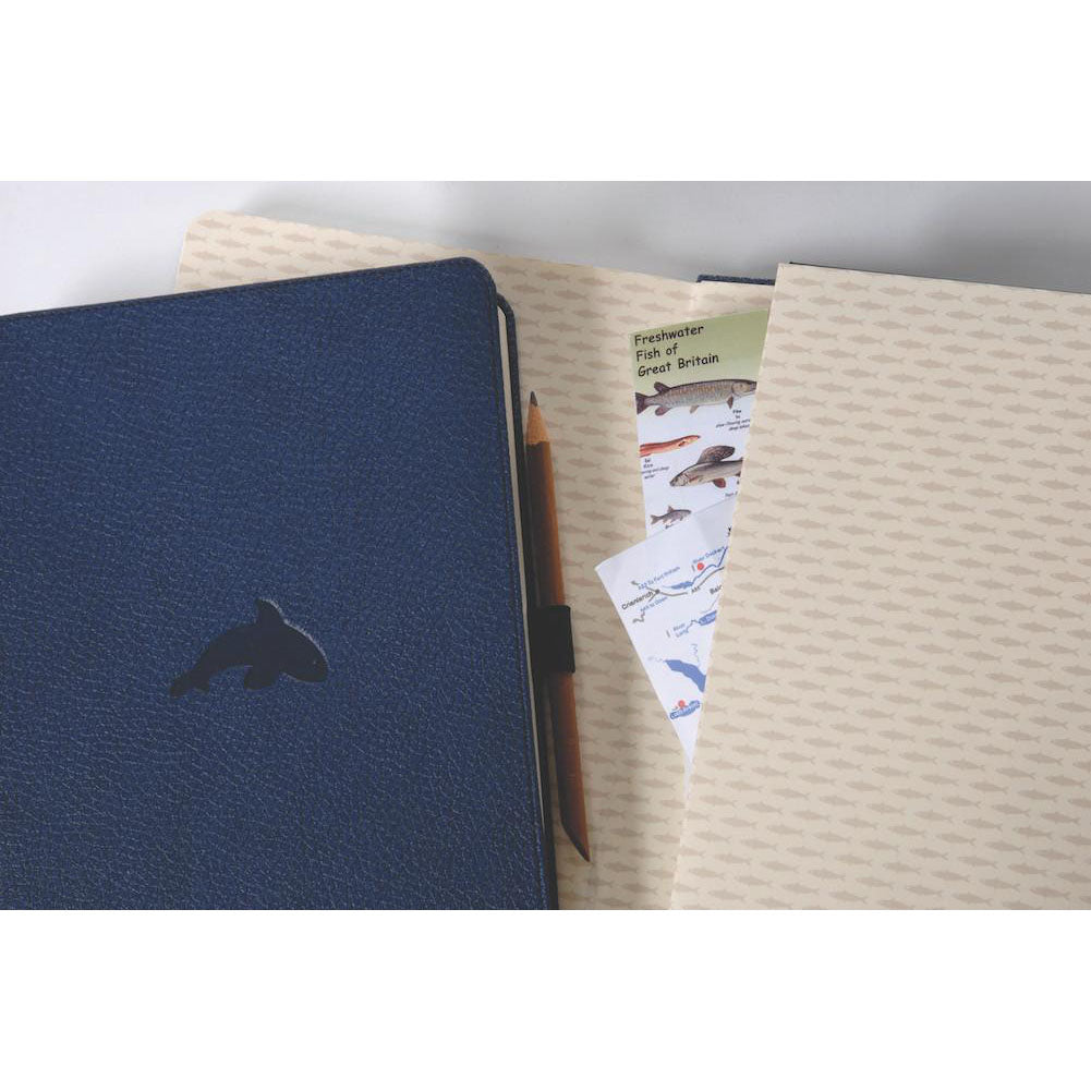 WILDLIFE - Blue Whale - dotted A5+ journal - Paper Kooka