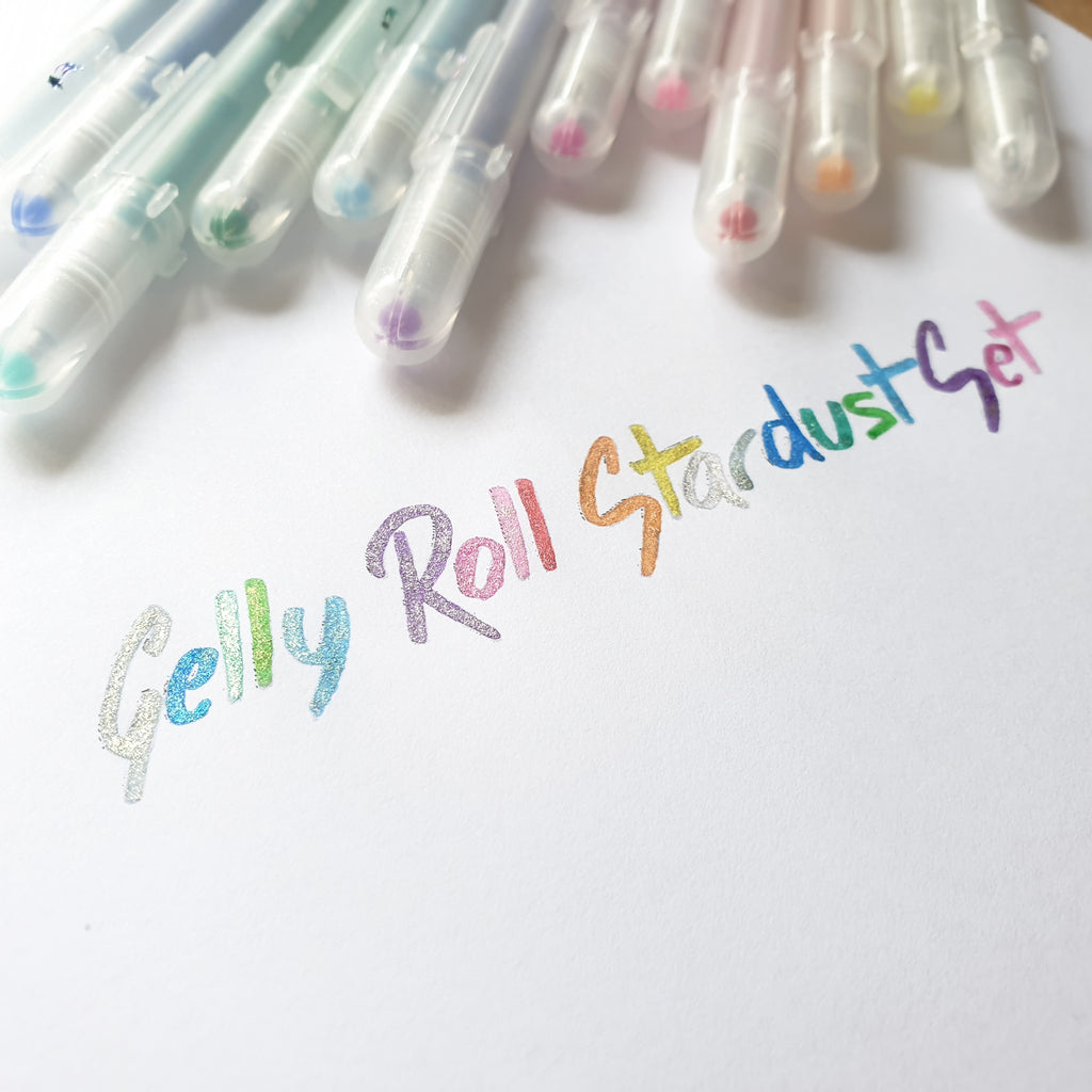 Gelly Roll Stardust Set of 12 - Have a Point