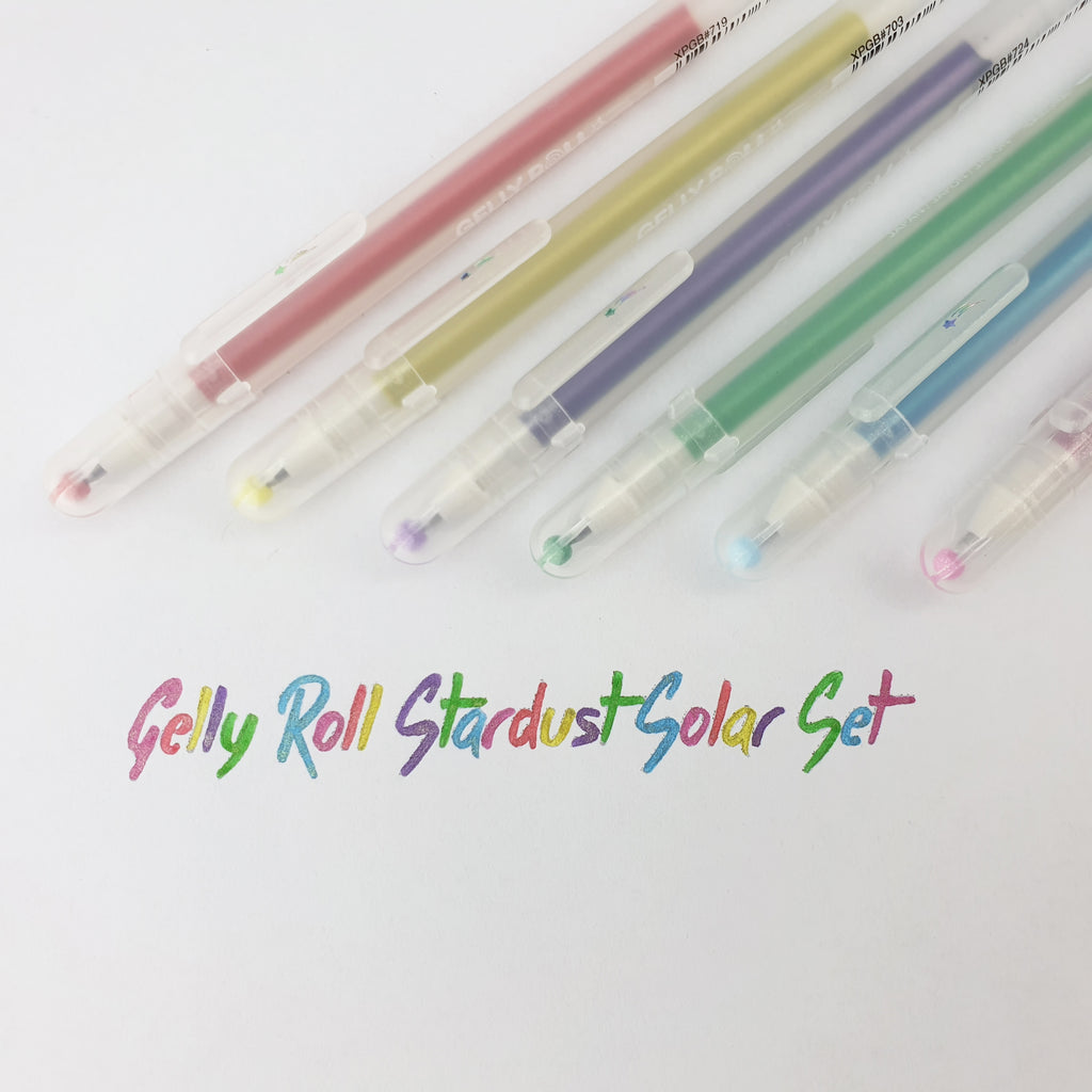 Gelly Roll Stardust - Solar Set of 6 - Have a Point