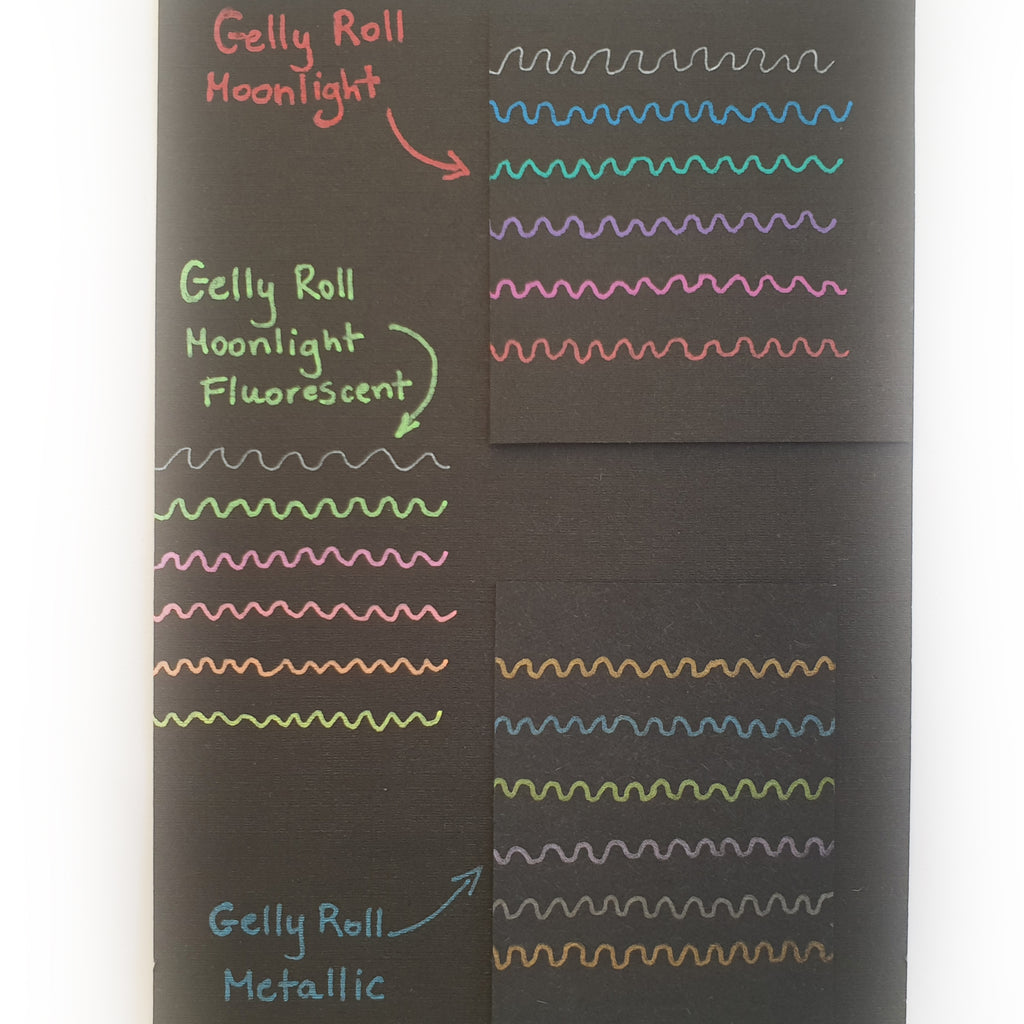 Gelly Roll Moonlight - Evening Set of 6 - Paper Kooka