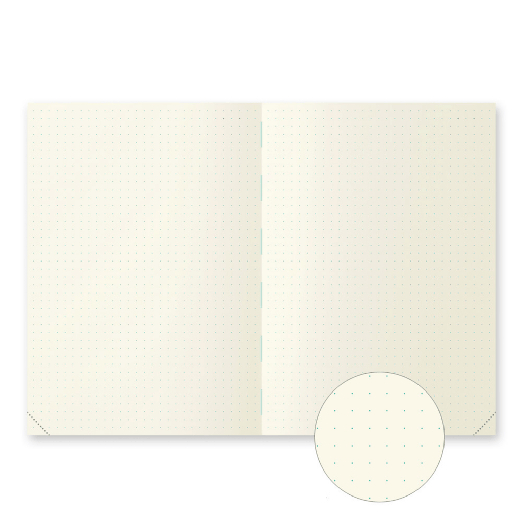 A5 Dotted MD Notebook Journal Codex 1 Day 1 Page - Paper Kooka