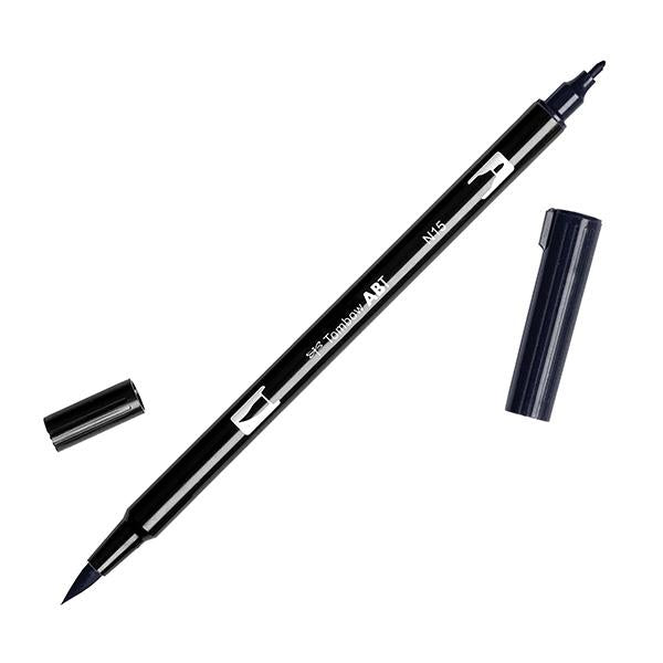 Tombow Dual Brush Pen ABT - N15 Black - Have a Point