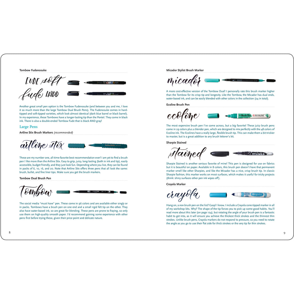 Brush Lettering from A to Z - Have a Point