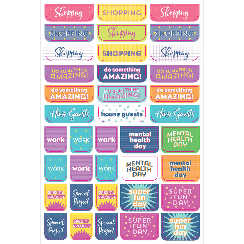 Weekly Planner Stickers - 12 sheets - Have a Point