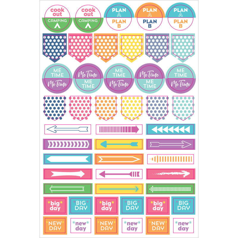 Weekly Planner Stickers - 12 sheets - Paper Kooka