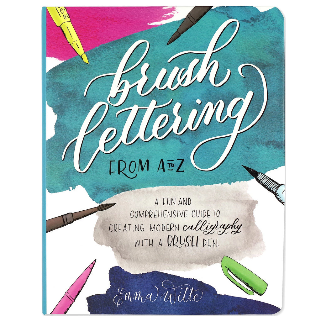 Brush Lettering from A to Z - Paper Kooka