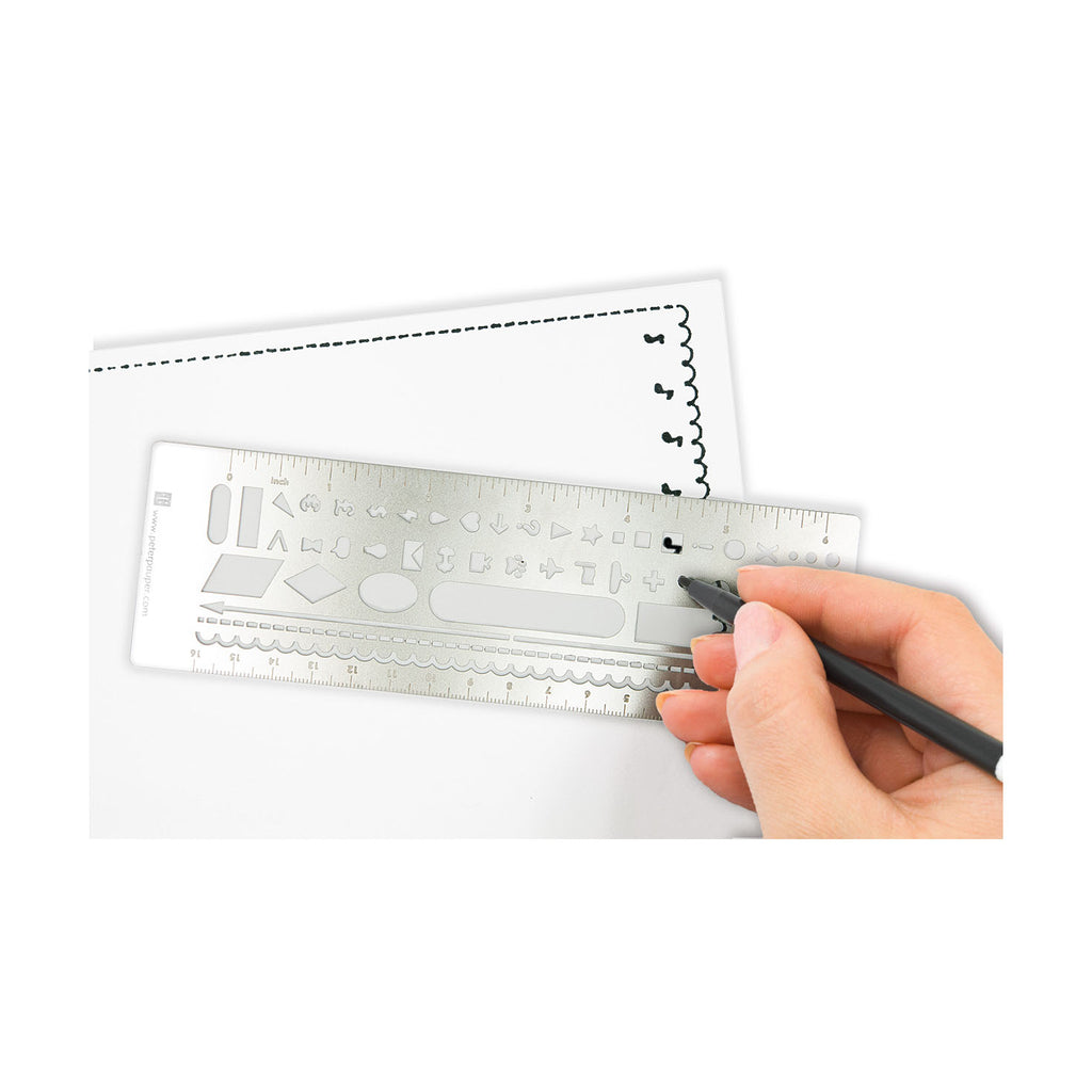 Metal Stencil Bookmark - Have a Point