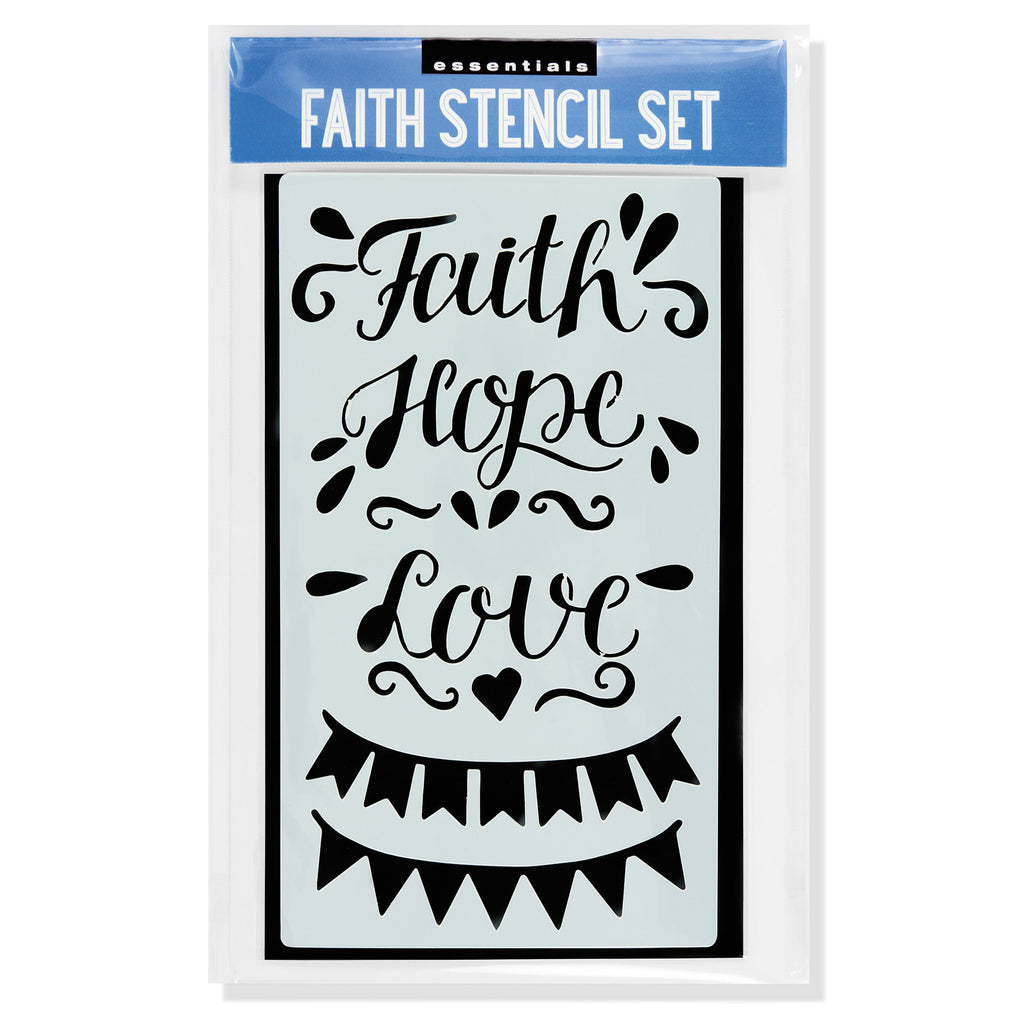 Faith - Journal Stencil Set - Have a Point
