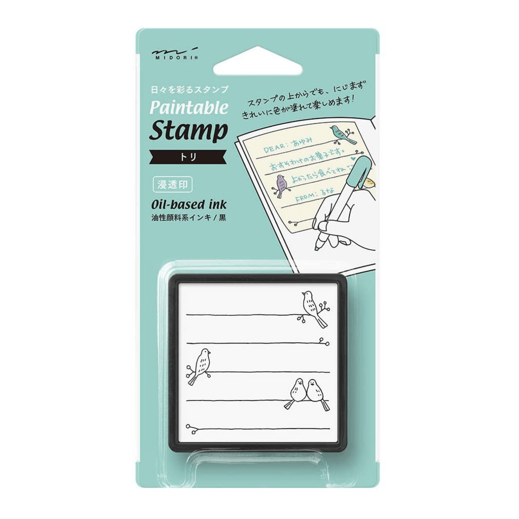 Self-inking Stamp - Birds - Paper Kooka