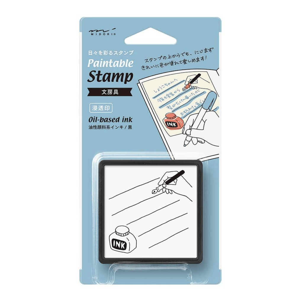 Self-inking Stamp - Writing - Paper Kooka