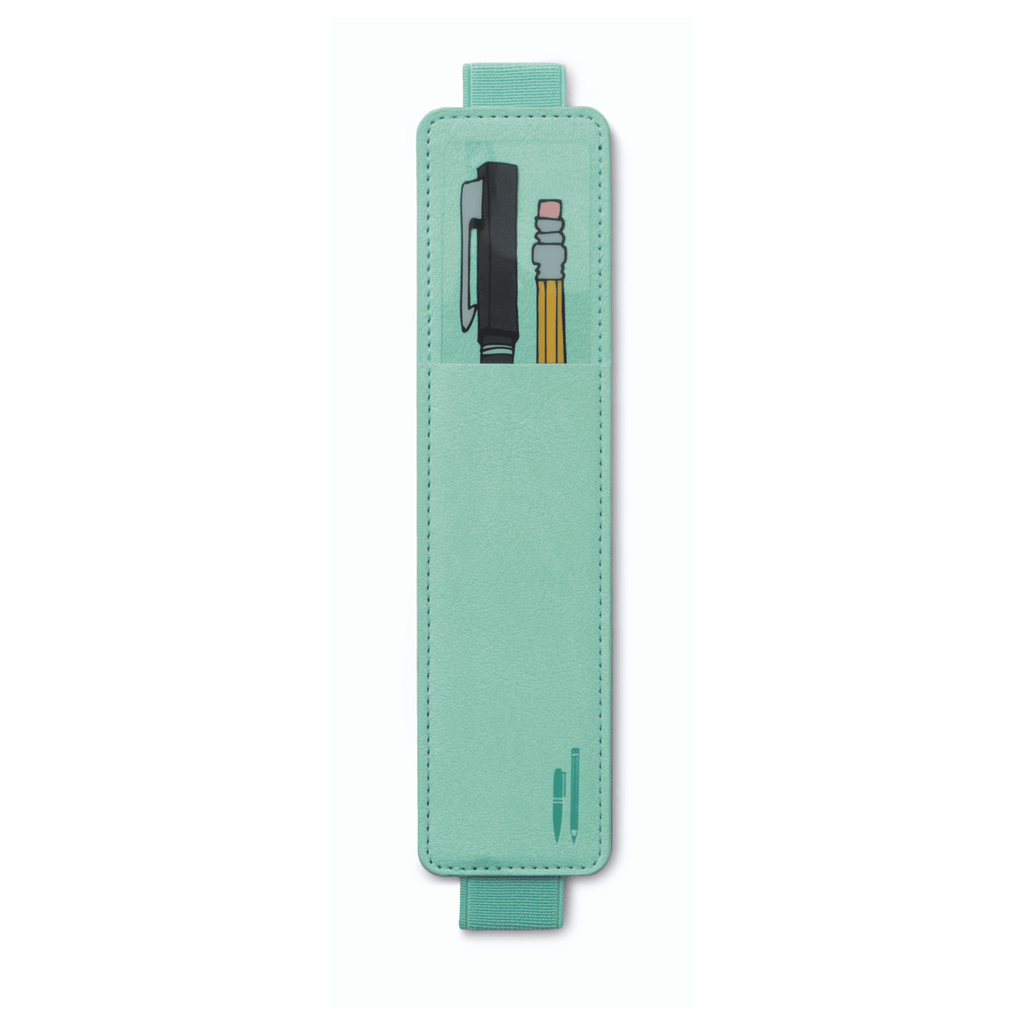 Pen Pouch for A5-A4 Notebooks - Mint