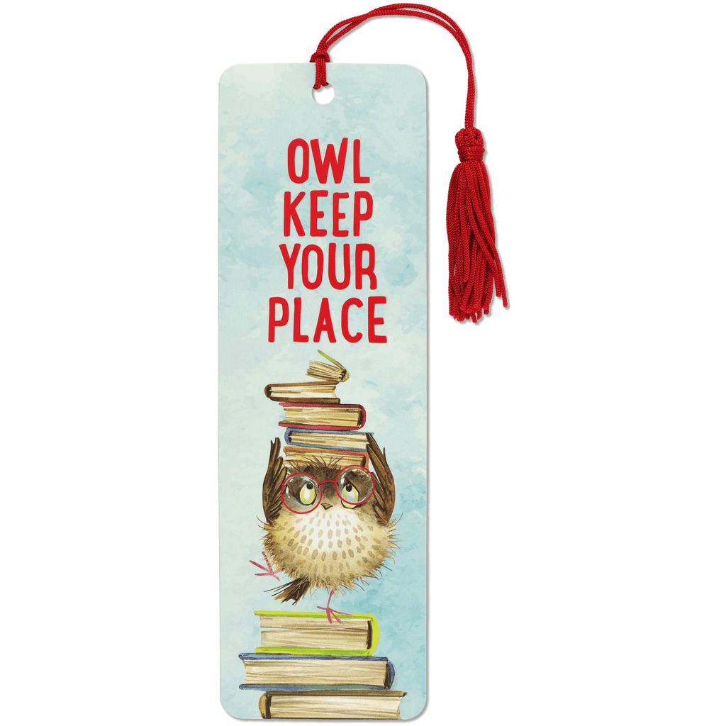 Beaded Bookmark - Owl Keep Your Place - Paper Kooka