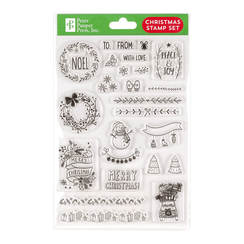 Christmas Clear Stamp Set - Paper Kooka