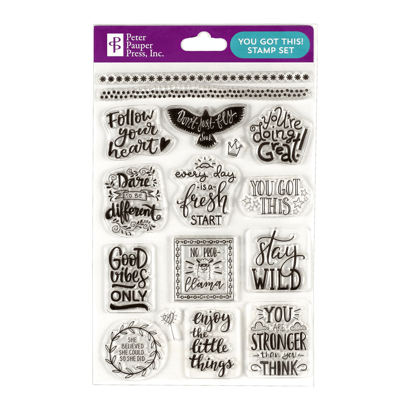 You Got This Clear Stamp Set - Paper Kooka