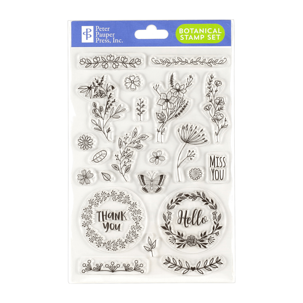 Botanicals Clear Stamp Set - Paper Kooka