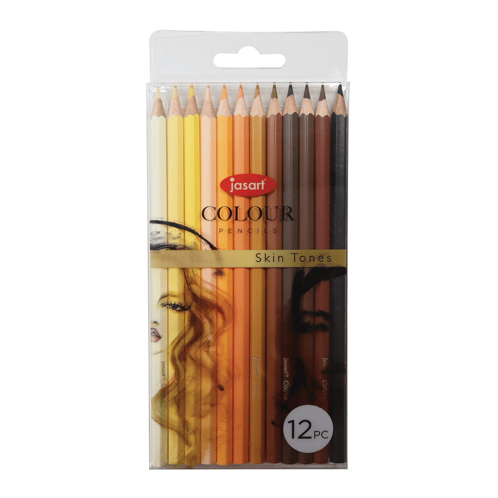 Colour Pencils Set - Skin - Paper Kooka