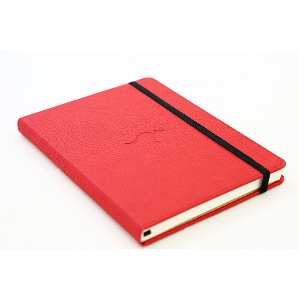 WILDLIFE - Red Kangaroo - dotted A5+ journal - Paper Kooka