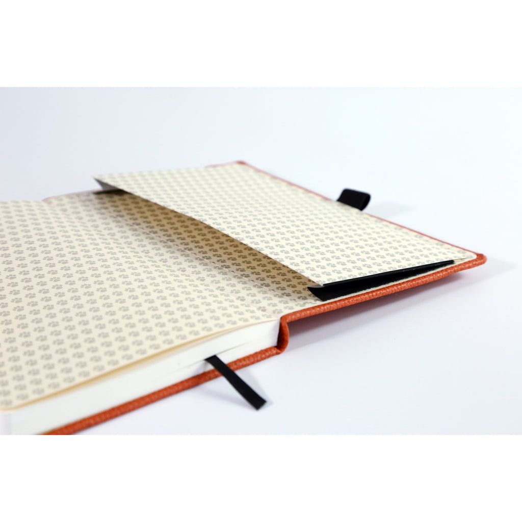 Wildlife - Orange Tiger - dotted A5+ journal - Dingbats* - Paper Kooka