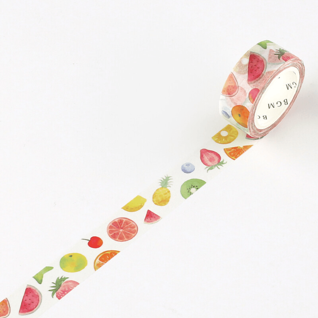 Summer Fruits washi tape - Paper Kooka