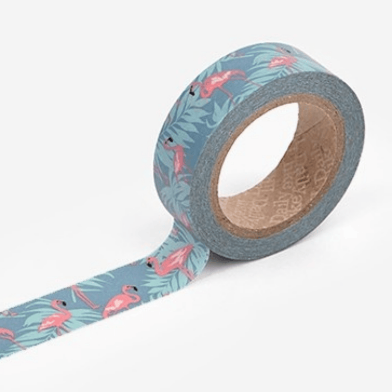 Pink Flamingos washi tape - Paper Kooka