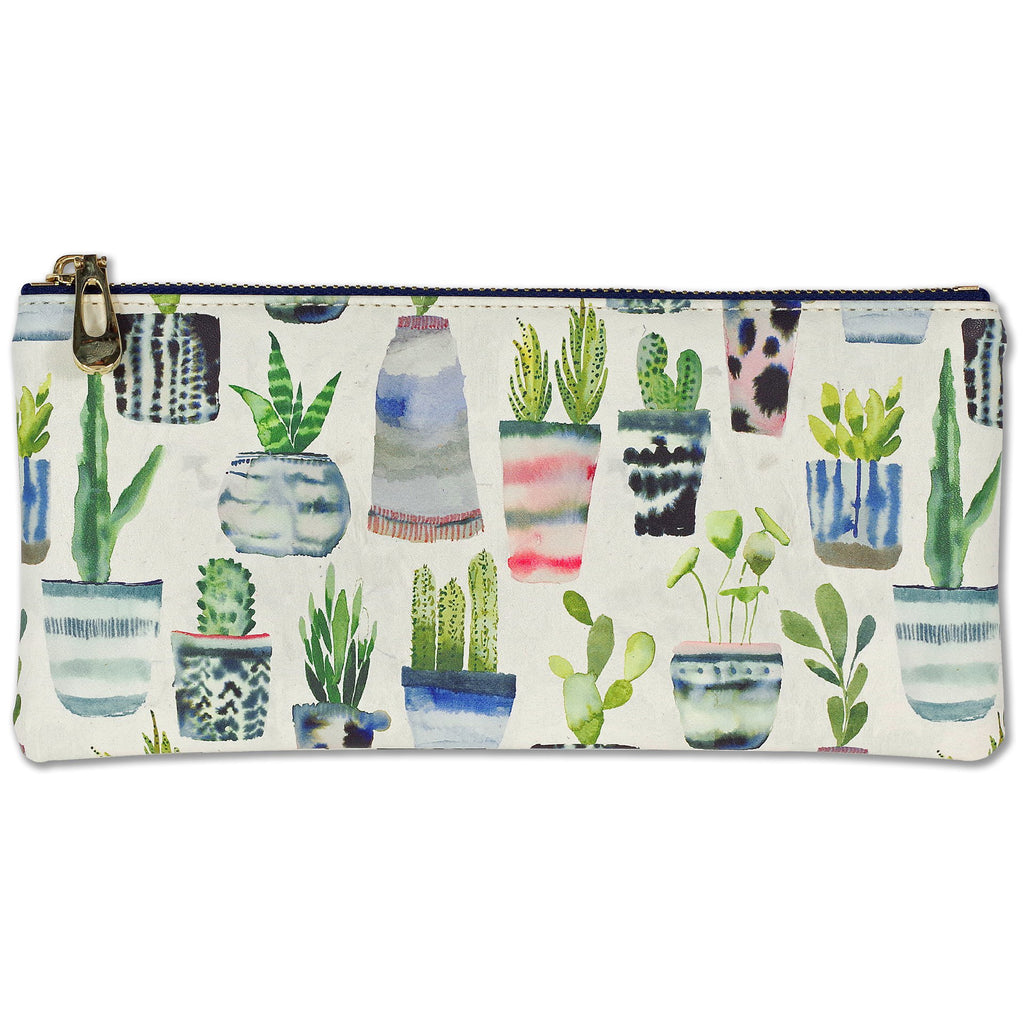 Pencil Pouch - Succulents - Paper Kooka