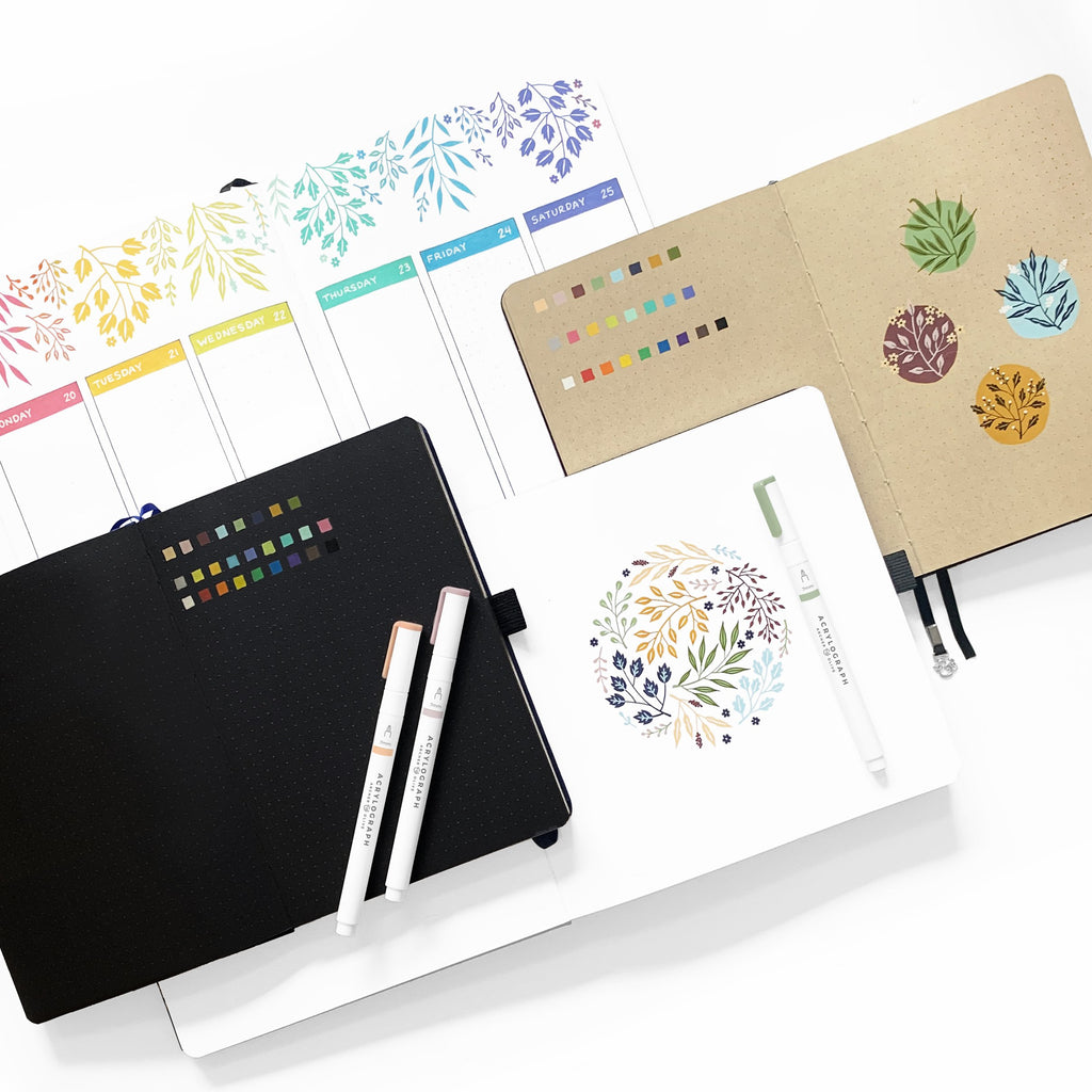 B5 Night Sky Neapolitan Dot Grid Notebook - Paper Kooka