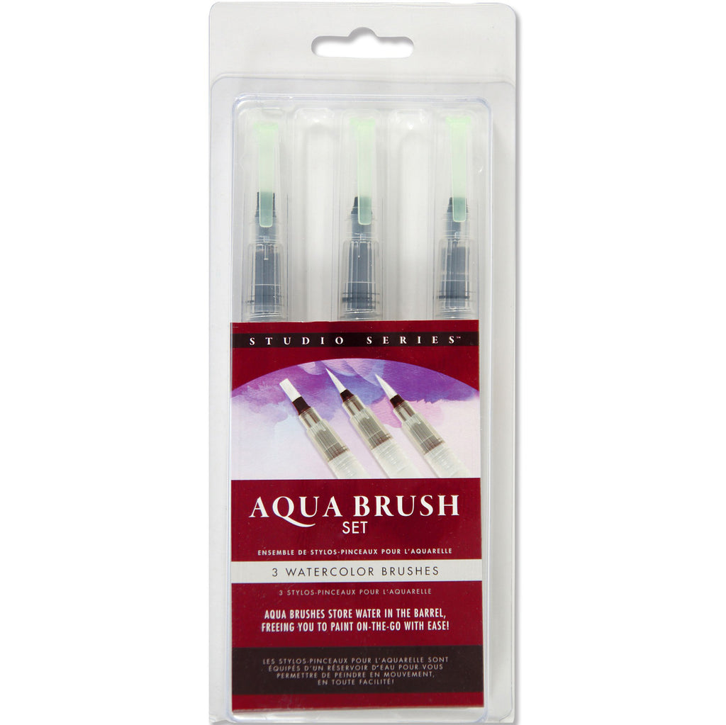 Aqua Brushes - Set of 3 - Paper Kooka