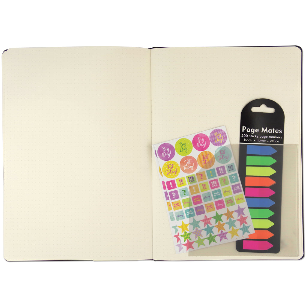 Adhesive Vinyl Pockets for Journals - Set of 6 - Paper Kooka