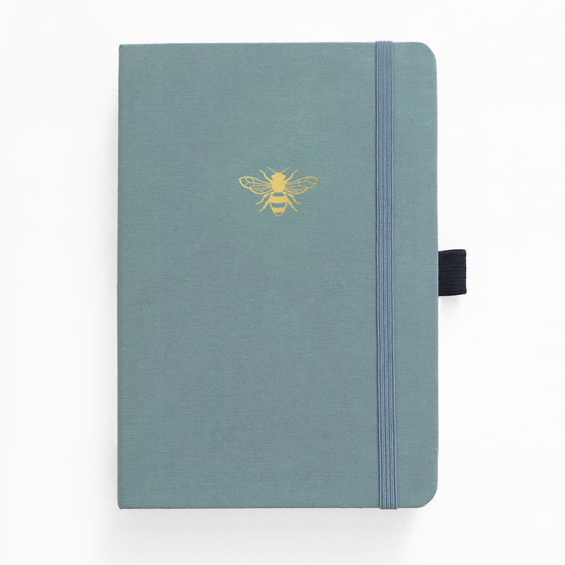 A5 Vintage Bee 192 Pages Dot Grid Notebook - Paper Kooka
