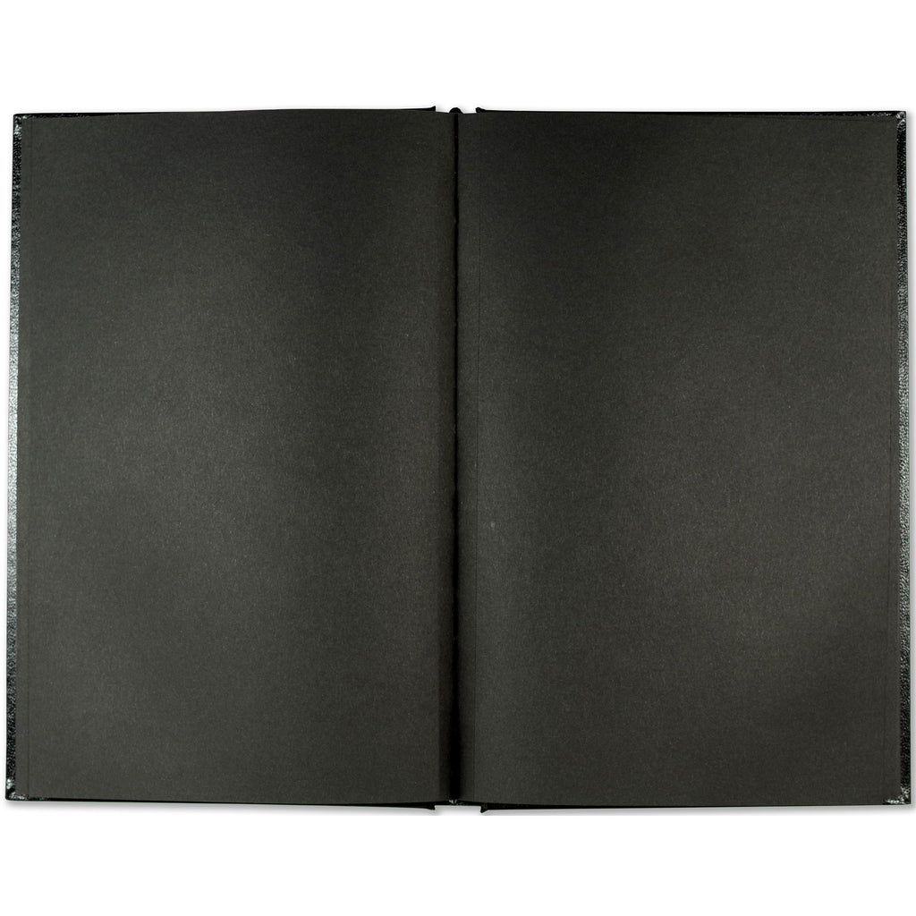 A5 Black Paper Notebook - Paper Kooka