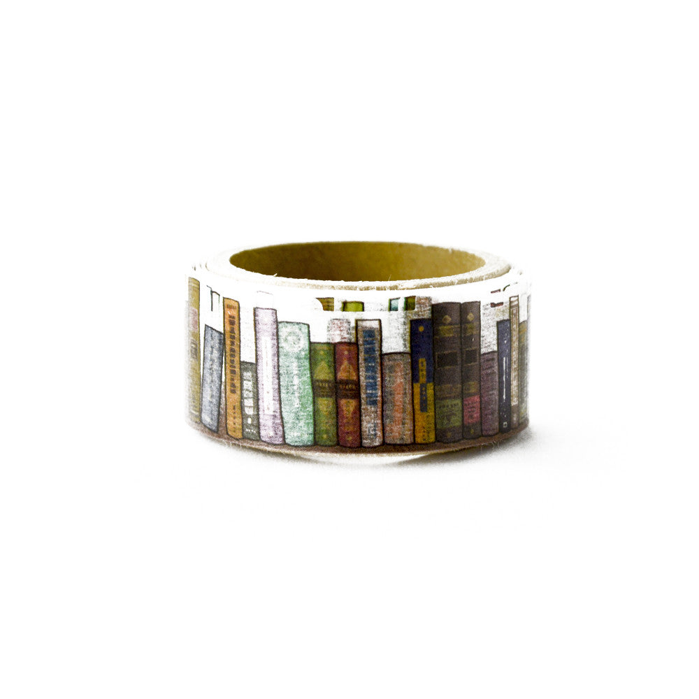 Books washi tape - Paper Kooka