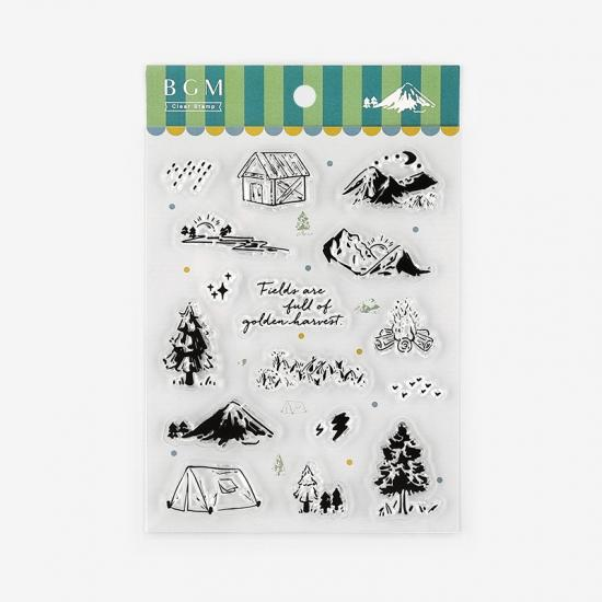 Camping Clear Stamps - Paper Kooka