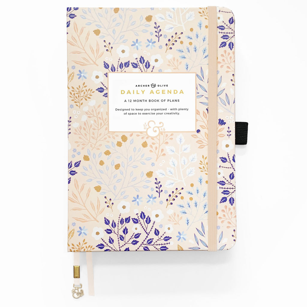 A5 Blush-A-Bye UNDATED PLANNER - Paper Kooka