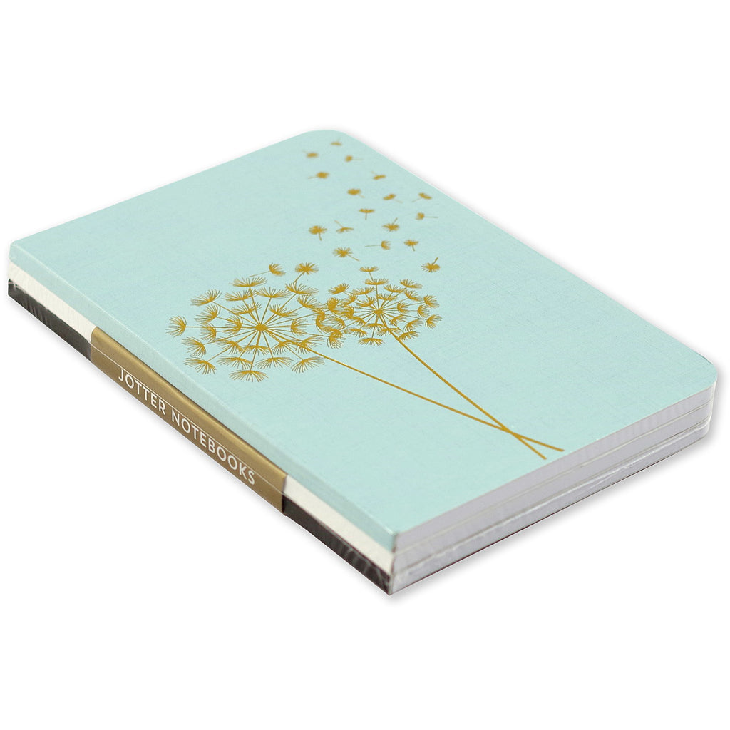 A6 Dotted Mini Notebooks Set of 3 - Dandelion - Have a Point