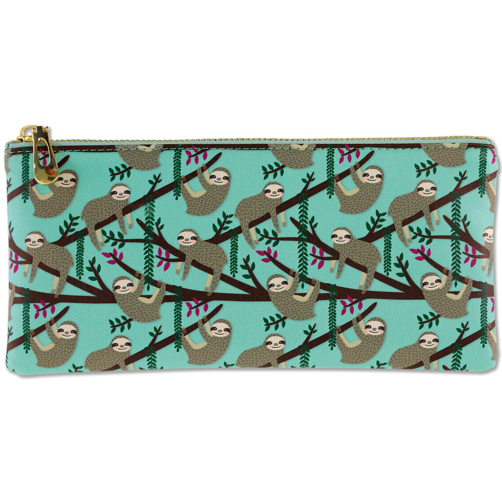 Pencil Pouch - Sloths - Paper Kooka