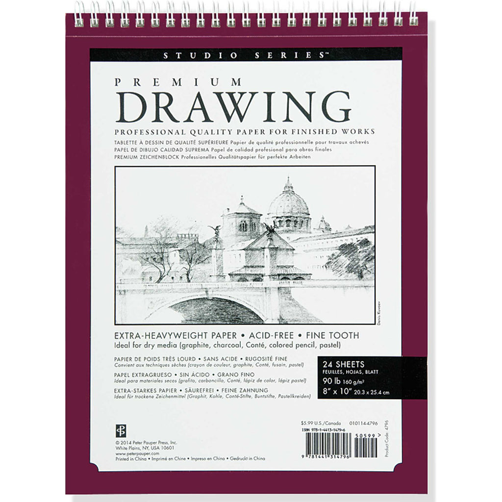 Premium Drawing Sketch Pad - Paper Kooka