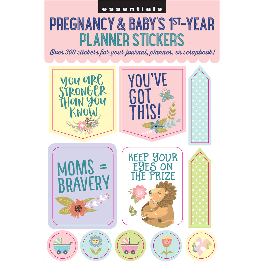 'Pregnancy & Baby's 1st-Year' Planner Stickers - 12 sheets - Have a Point