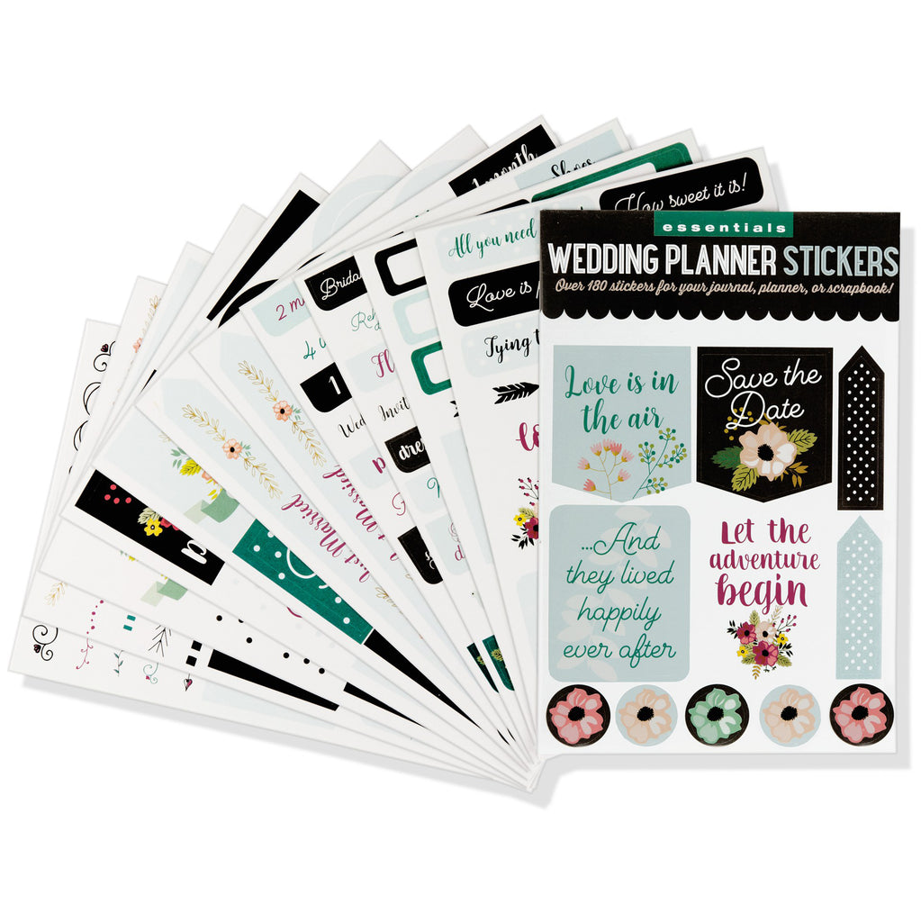'Wedding' Planner Stickers - 12 sheets - Have a Point