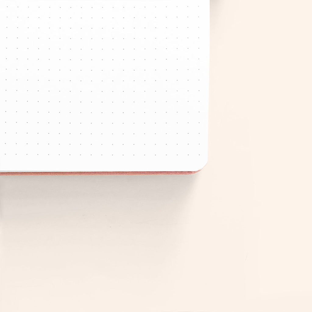 BACK IN STOCK MID-DECEMBER Blush-A-Bye - A5 dotted, 160gsm journal - Archer & Olive - Have a Point