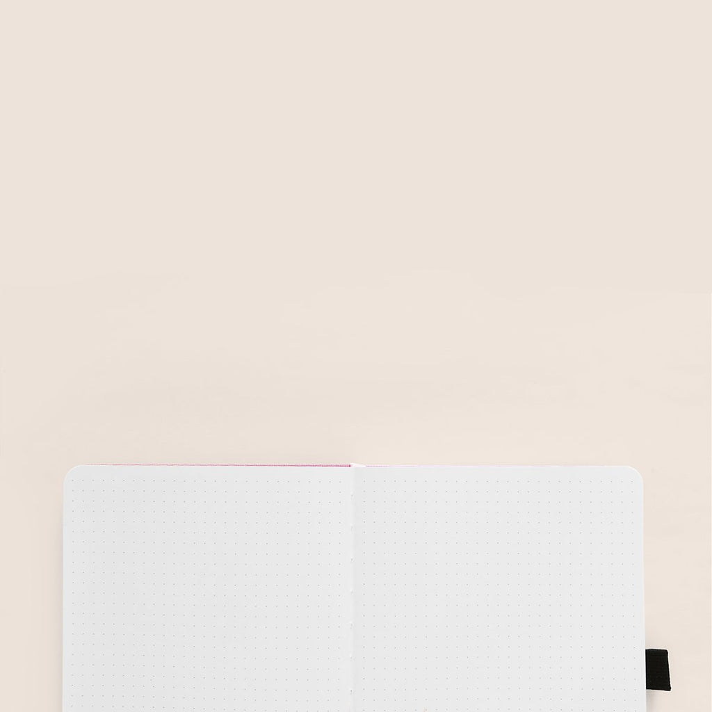 A5 Deep Green Dot Grid Notebook - Paper Kooka