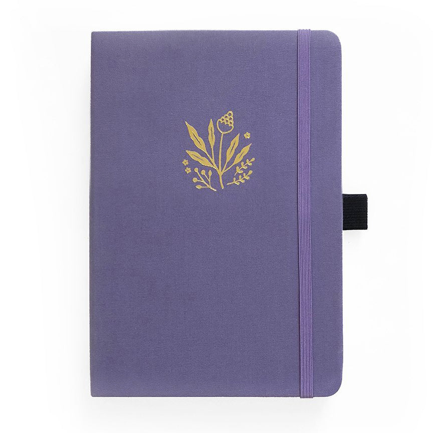 Archer & Olive Floral Details - A5 dotted, 160gsm journal - Have a Point