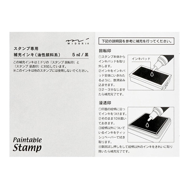 Self-inking Stamp Refill - Paper Kooka