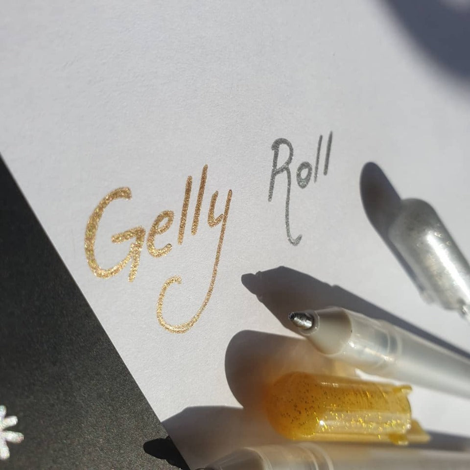 Gelly Roll White & 2 Metallic - Set of 3 - Have a Point
