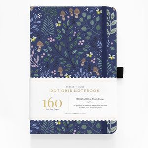 A5 Into The Forest Dot Grid Notebook