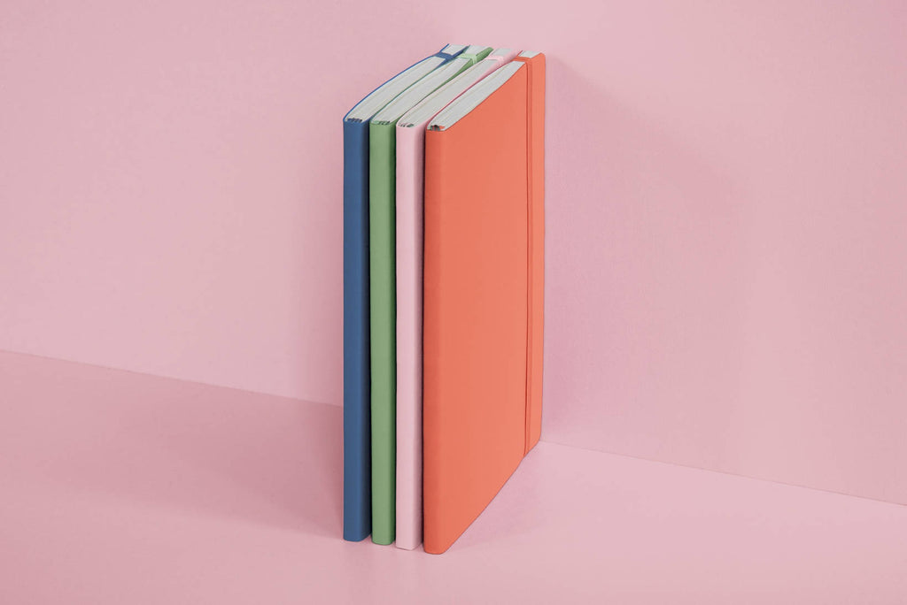 Muted Colours – Bellini - A5 dotted Softcover Notebook - Paper Kooka