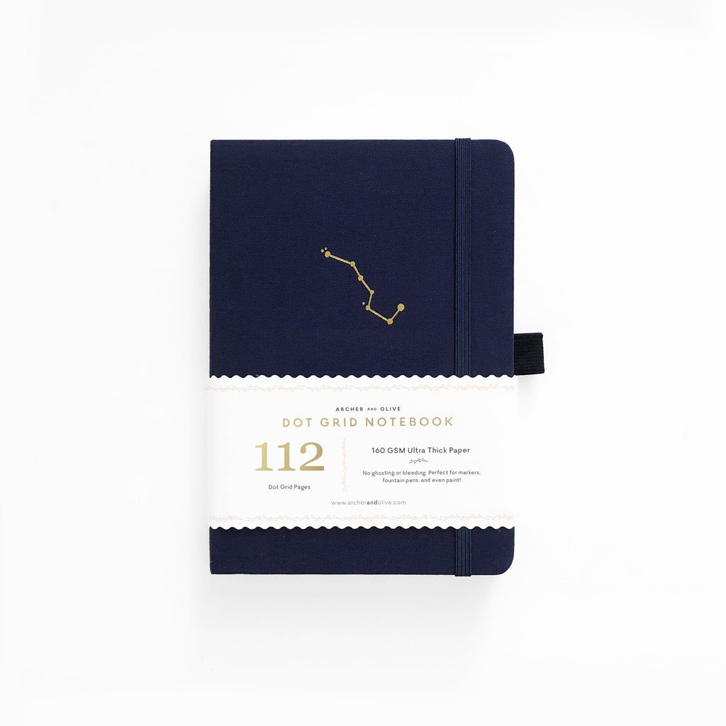 Archer & Olive Night Sky - B6 dotted, 160gsm journal - Paper Kooka
