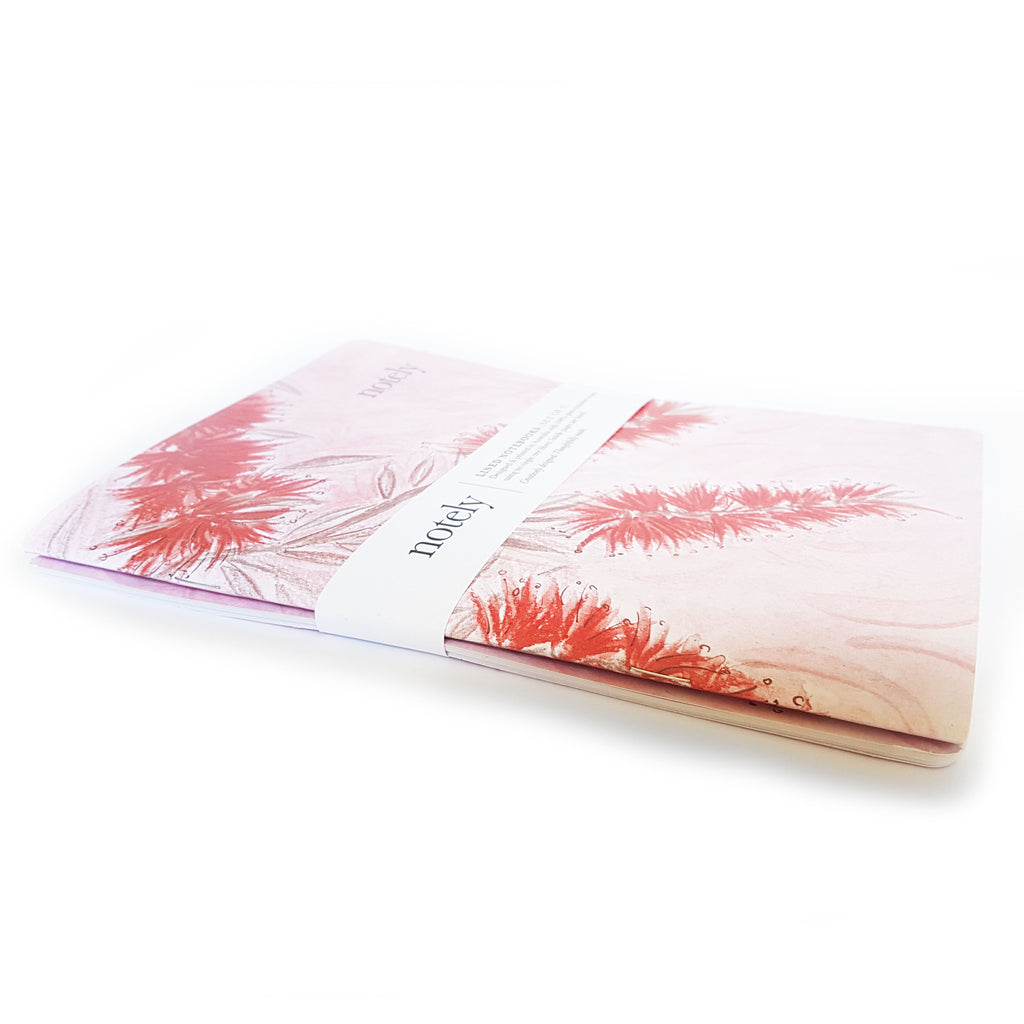 Bottle Blush Notebooks (set of 2) A5 - Have a Point