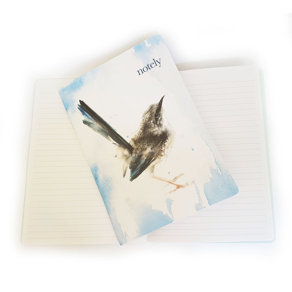 Curious Fairywren Notebooks (set of 2) A5 - Have a Point