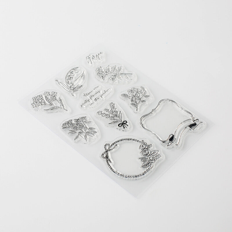 Floral Clear Stamps - Have a Point